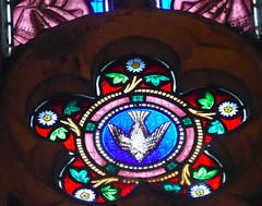 Church - St Andrew, Slaidburn 190822 [Wilkinson Memorial Window h] (maljoe) Tags: church churches stainedglass stainedglasswindow stainedglasswindows standrews standrewchurchslaidburn slaidburn lancashire 1000bestchurches