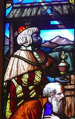 Church - St Andrew, Slaidburn 190822 [Wilkinson Memorial Window c] (maljoe) Tags: church churches stainedglass stainedglasswindow stainedglasswindows standrews standrewchurchslaidburn slaidburn lancashire 1000bestchurches