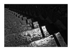 L'escalier du diable (Armin Fuchs) Tags: arminfuchs nomansland lescalierdudiable stairway light shadow diagonal darkness reflection ligeti anonymousvisitor thomaslistl wolfiwolf jazzinbaggies niftyfifty