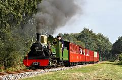 River Irt Clag. (Neil Harvey 156) Tags: steam steamloco steamengine steamrailway railway riverirt cuckoosnest kirkleeslightrailway estatesrailwaysgala miniaturerailway