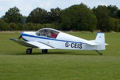 G-CEIS SAN Jodel DR1050 Ambassadeur cn 469 Sywell 01Sep19 (kerrydavidtaylor) Tags: orm egbk sywellaerodrome northamptonshire