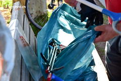 Rhine Cleanup 2019: Hessens Umnweltministerin Prisca Hinz und Wiesbadens Oberbürgermeister unter den Müllsammlern. ©2019 Volker Watschounek (wiesbadenlebt) Tags: biebrich rheinufer rhinecleanup wiesbaden