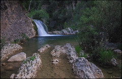 Cascada en rio Borosa. (antoniocamero21) Tags: foto color sony atardecer rio agua rocas paisaje cascada natural borosa cazorla sierra andalucía