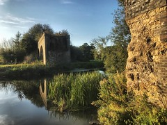 Formerly known as viaduct..... (mark.griffin52) Tags: england dorset sturminsternewton riverstour river countryside somersetanddorsetjointrailway railway victorian ruin architecture viaduct