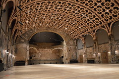 Great Hall at BAC (Matt From London) Tags: london batterseaartscentre bac theatre hall