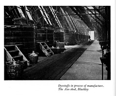 ICI - a short account of the activities of the company, 1929 - Azo Dyestuffs  manufacture, Blackley, Manchester (mikeyashworth) Tags: mikeashworthcollection ici imperialchemicalindustries chemicalplant chemicalprocess blackley manchester levinstein azoshed industriallandscape c1929 dyestuffs dyestuffsproduction carboys