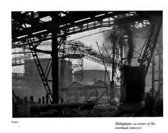 ICI - a short account of the activities of the company, 1929 - Billingham Works conveyor (mikeyashworth) Tags: mikeashworthcollection eohoppé billingham teesside billinghamworks c1929 industry industriallandscape industrialphotography overheadconveyer chemicalworks chemicalplant ici imperialchemicalindustries