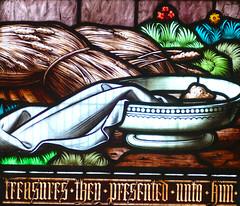 Church - St Andrew, Slaidburn 190822 [Wilkinson Memorial Window s] (maljoe) Tags: church churches stainedglass stainedglasswindow stainedglasswindows standrews standrewchurchslaidburn slaidburn lancashire 1000bestchurches