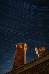 Startrails tuscany (markusgeisse) Tags: startrails stars night long time exposure lightening sternenhimmel sternstreifen toskana tuscany