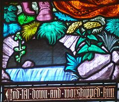 Church - St Andrew, Slaidburn 190822 [Wilkinson Memorial Window q] (maljoe) Tags: church churches stainedglass stainedglasswindow stainedglasswindows standrews standrewchurchslaidburn slaidburn lancashire 1000bestchurches