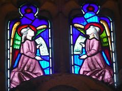 Church - St Andrew, Slaidburn 190822 [Wilkinson Memorial Window i] (maljoe) Tags: church churches stainedglass stainedglasswindow stainedglasswindows standrews standrewchurchslaidburn slaidburn lancashire 1000bestchurches