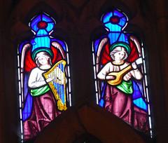 Church - St Andrew, Slaidburn 190822 [Wilkinson Memorial Window g] (maljoe) Tags: church churches stainedglass stainedglasswindow stainedglasswindows standrews standrewchurchslaidburn slaidburn lancashire 1000bestchurches