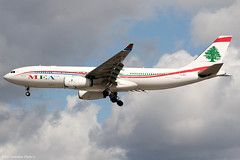OD-MEB (Baz Aviation Photo's) Tags: odmeb airbus a330243 mea middle east airlines heathrow runway 27l me201 from beirut bey me egll lhr