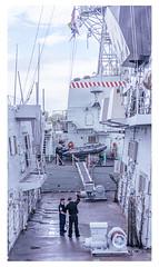Navy... (LukeDaDuke) Tags: marine ship navy antwerp antwerpen anvers belgium belgique belgie belgien belgica belgië vlaanderen flanders harbour port army
