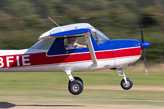 G-BFIE Cessna 150M (amisbk196) Tags: uk kent flickr unitedkingdom aircraft aviation amis airfield aerodrome 2019 headcorn cessna 150m gbfie