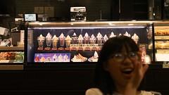 SAKURAKO - Parfait. (MIKI Yoshihito. (#mikiyoshihito)) Tags: parfait cafe sakurako 櫻子 さくらこ 娘 daughter サクラコ 長女 10歳10ヶ月 eldestdaughter