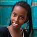 Portrait of a smiling somali girl, Sahil region, Berbera, Somaliland