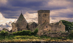 Inchcolm Abbey(Scotland) (williamwalton001) Tags: pentaxart scotland stone sky historic building island
