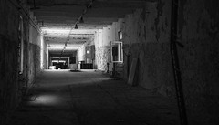 Corridor in the abandoned Duga Radar Complex - 11/09/2019 (kevaruka) Tags: chernobyl exclusion zone 911 pripyat dodgems bumper cars bw nuclear disaster urban photography black white ga mask canon eos 5d mk3 ef 1635 f28 mk2 wide angle uwa ultra ukraine 5d3 5diii doll gas dof depth people photoadd television flickr front page kevin frost composition colour colours color colors contrast school september 2019 11092019 indoor kiev ferriswheel fair amusementpark funfair tram corridor sun sunshine sunny sunnyday duga radar dugaradar