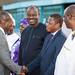 Arrivée de S.E.M Patrice TALON à Ouagadougou dans le cadre du sommet extraordinaire de la CEDEAO sur la lutte contre le terrorisme le 13-9-2019_-11