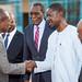 Arrivée de S.E.M Patrice TALON à Ouagadougou dans le cadre du sommet extraordinaire de la CEDEAO sur la lutte contre le terrorisme le 13-9-2019_-5