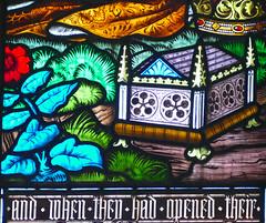Church - St Andrew, Slaidburn 190822 [Wilkinson Memorial Window r] (maljoe) Tags: church churches stainedglass stainedglasswindow stainedglasswindows standrews standrewchurchslaidburn slaidburn lancashire 1000bestchurches