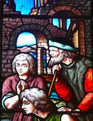 Church - St Andrew, Slaidburn 190822 [Wilkinson Memorial Window e] (maljoe) Tags: church churches stainedglass stainedglasswindow stainedglasswindows standrews standrewchurchslaidburn slaidburn lancashire 1000bestchurches