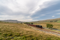 Over the top (MJREphotography) Tags: steam train railway railways locomotive br british rail 45690 leander lms wcrc dreams sd cathedrals express ais gill kirkby stephen garsdale sc settle and carlisle