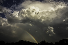 Rainbow in the Clouds (Klaus Ficker --Landscape and Nature Photographer--) Tags: canon eos5dmarkiv kentuckyphotography klausficker rainbow stormscape cloudscape landscape weather nature awesomenature storm clouds cloudsday cloudsofstorms cloudwatching stormcloud weatherphotography photography photographic weatherspotter chase chasers weatherphotos sky magicsky darksky darkclouds stormyday stormchasingstorm chaserssky themesky chasersstorm pics watching dramatic outdoor lightning sturm gewitter blitz amazing beautiful thunderheads thunderstorm wolken blitze donner wetter