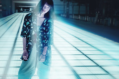 night stories (hideout) (TAKAGI.yukimasa1) Tags: portrait woman people cute girl beauty female fineart canon eos 5dsr japanese asiangirl asian cool dark ポートレート 人像 人像攝影 fineartphotography portraitphotography portraiture conceptualphotography happyplanet asiafavorites