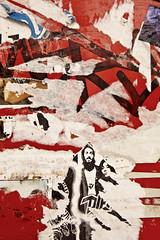 Torn Poster, Toronto (klauslang99) Tags: klauslang abstraction abstract torn poster wall house pattern toronto