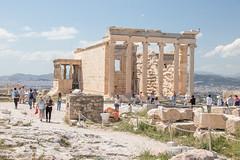 Athènes-162 (nicolasbury) Tags: acropole athènes athens temple caryatides erechteion