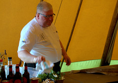 Chef Paul Askew of The Art School Restaurant, at Wirral Food & Drink Festival 2019 (Tony Worrall) Tags: chefpaulaskew theartschoolrestaurant wirralfooddrinkfestival2019 event stage demo cooking foodie eat make man chef cook cookingdemo tent made nw northwest north update place location uk england visit area attraction open stream tour country item greatbritain britain english british gb capture buy stock sell sale outside outdoors caught photo shoot shot picture captured ilobsterit instragram wirral liverpool birkenhead
