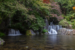 Waterfall (stephanexposeinjapan) Tags: japon japan asia asie stephanexpose canon 600d 1635mm nature osaka expo70 waterfall water eau cascade automne fall