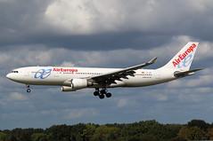 Air Europa | A330-200 | EC-JPF | HAM | 14.09.2019 (Norbert.Schmidt) Tags: airbus a330 hamburgairport ham aireuropa a330200 ecjpf