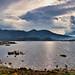 Lake Bafa at Latmos Mountains