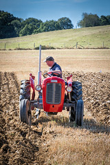 Ploughing   ( Explore ) (Jez22) Tags: jeremysage copyright photography ferguson 35 vintage tractor ploughing rural kent furrow field