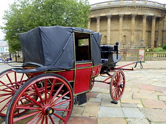 Location filming outside St George's Hall at Liverpool (Tony Worrall) Tags: liverpool merseyside film television filming location filmset urban outdoors shooting place nw northwest north update uk england visit area attraction open stream tour country item greatbritain britain english british gb capture buy stock sell sale outside caught photo shoot shot picture captured ilobsterit instragram vintage drama history carriage relic olden past stgeorgeshall