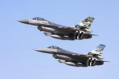 D-Day Falcons (Rob Schleiffert) Tags: kleinebrogel sanicoleairshow lockheed f16 belgischeluchtmacht belgianairforce luchtcomponent dday 349smaldeel| 350smaldeel