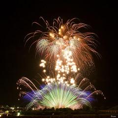 第55回常総きぬ川花火大会 55th Jhoso-Kinugawa Fireworks Festival (ELCAN KE-7A) Tags: 日本 japan 茨城 ibaraki 常総 jhoso 水海道 mitsukaido 花火 fireworks ペンタックス pentax k3ⅱ 2019