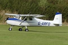 Cessna 150A G-ARFO (Gavin Livsey) Tags: c150 cessna garfo laarally sywell