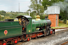 Katie And A Kirklees Icon. (Neil Harvey 156) Tags: steam steamloco steamengine steamrailway railway katie shelley kirkleeslightrailway estatesrailwaygala miniaturerailway trevorguestloco