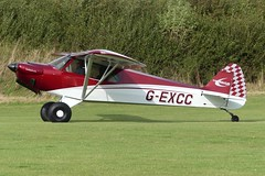 Cub Crafters Carbon Cub EX-2 G-EXCC (Gavin Livsey) Tags: carboncub gexcc laarally sywell
