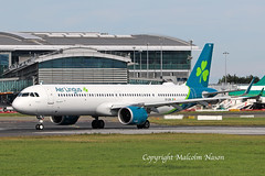 A321 NEO EI-LRA AER LINGUS (shanairpic) Tags: jetairliner aerlingus newcolours dublin a321 airbusa321 neo eilra