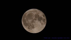 Waxing Gibbous Micro Harvest Moon...... (law_keven) Tags: moon photography astrophotography microharvestmoon luna catford london england nasa space micromoon
