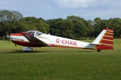 G-CHXK Scheibe SF25C Falke cn 44435 Stratford on Avon Gliding Club Sywell 01Sep19 (kerrydavidtaylor) Tags: orm egbk sywellaerodrome northamptonshire glider motorglider