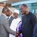 Arrivée de S.E.M Patrice TALON à Ouagadougou dans le cadre du sommet extraordinaire de la CEDEAO sur la lutte contre le terrorisme le 13-9-2019_-10