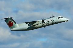 C-FJVV (Air Canada EXPRESS - JAZZ) (Steelhead 2010) Tags: aircanada aircanadaexpress yul jazz dehavillandcanada dhc8 dhc8300 creg cfjvv