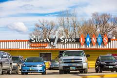 Silver Spur Lanes (Thomas Hawk) Tags: america silverspurlanes usa unitedstates unitedstatesofamerica wyoming bowling bowlingalley neon neonsign lander