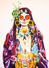 Culture Clash (Thomas Hawk) Tags: baja bajacalifornia cabo cabosanlucas hilton hiltonloscabos hotel loscabos loscaboshilton mexico painting fav10